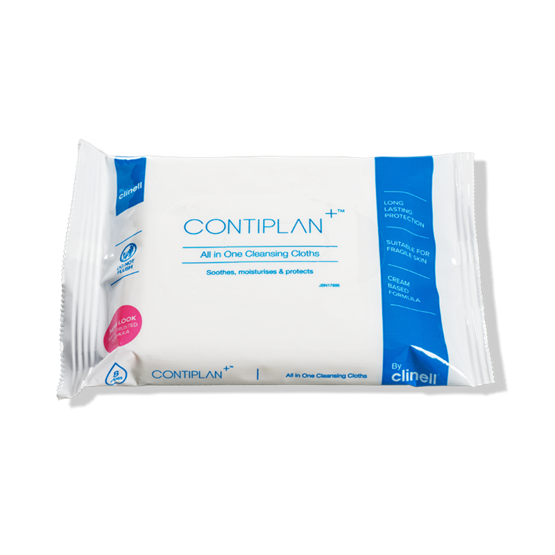 Contiplan Body Wash Wipes