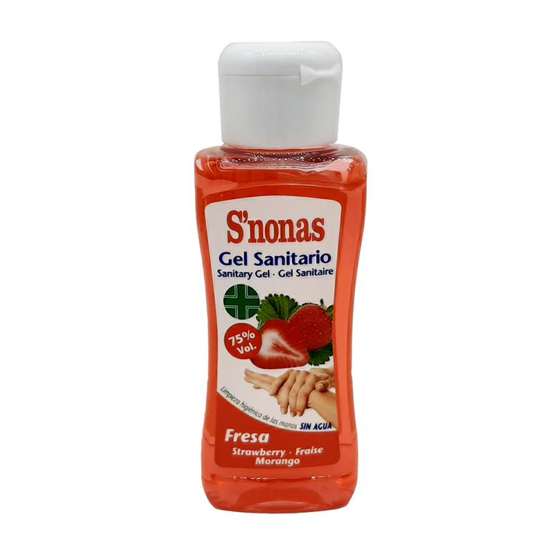 Alcohol scented Sanitary Gel Strawberry 100ml