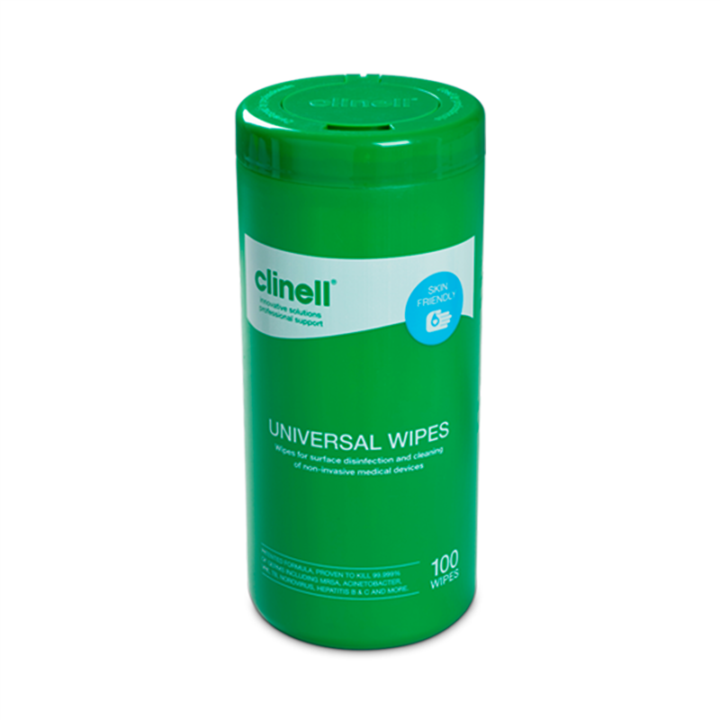 Disinfectant wipes (surfaces and equipment)