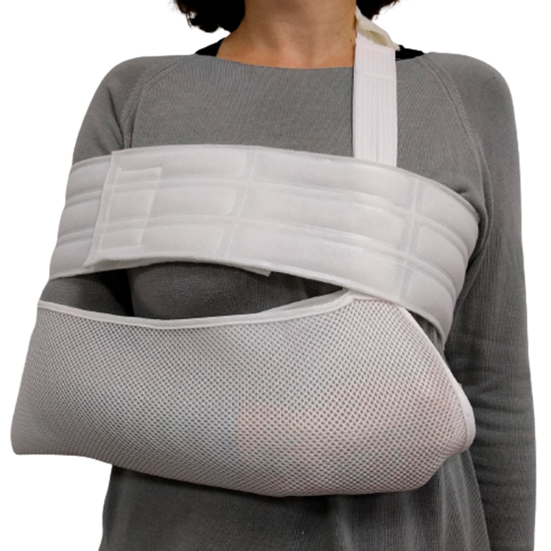 Padded Arm and Shoulder Immobilizer with Chest Band