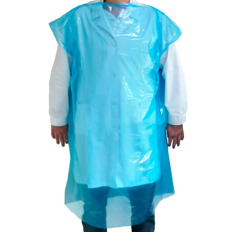Blue sanitary gown 800x1200 box 200