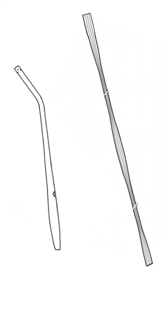 MEDIUM YANKAUER CANNULA WITH CONTROL AND BUBBLE TUBE 7mmX300cm (SEPARATE). DOUBLE PACKAGE