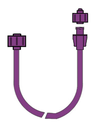 EXTENSION FOR ENTERIC FEED 150cm - ENFIT CONNECTION